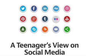 teenagers view of social media